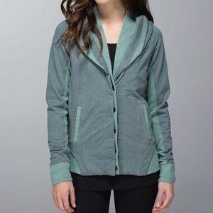 Lululemon To Class Jacket Burlap Texture Deep Shor